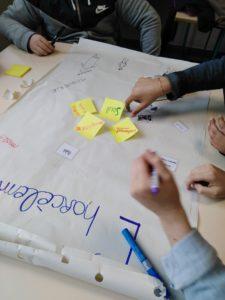 Ateliers débats créatifs harcèlement scolaire